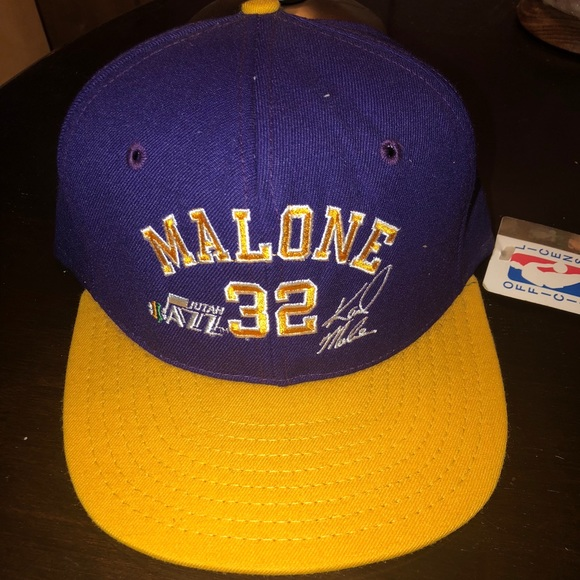92ad497db59acc NBA Accessories | Vintage Hat Karl Malone Utah Jazz | Poshmark